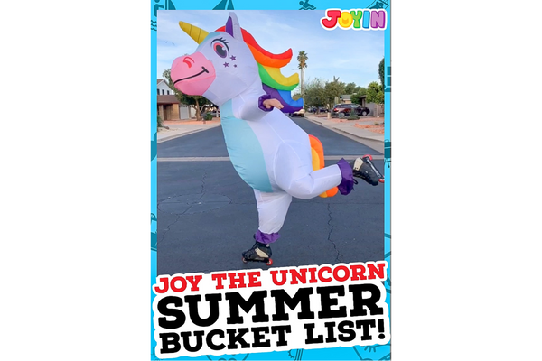 Joy the Unicorn Summer Bucket List!