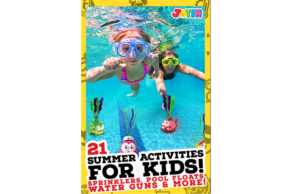 21 Ways To Burn Kids Energy This Summer!