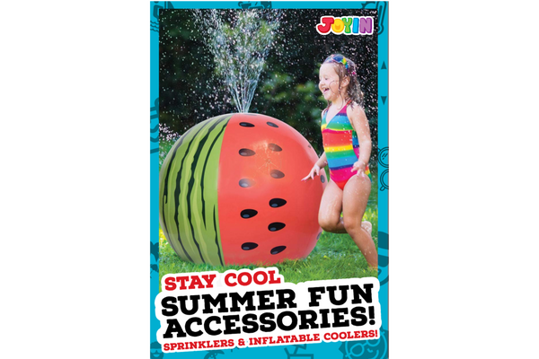 Summer Fun Accessories! - Outdoor Sprinklers and Inflatable Coolers you must try!