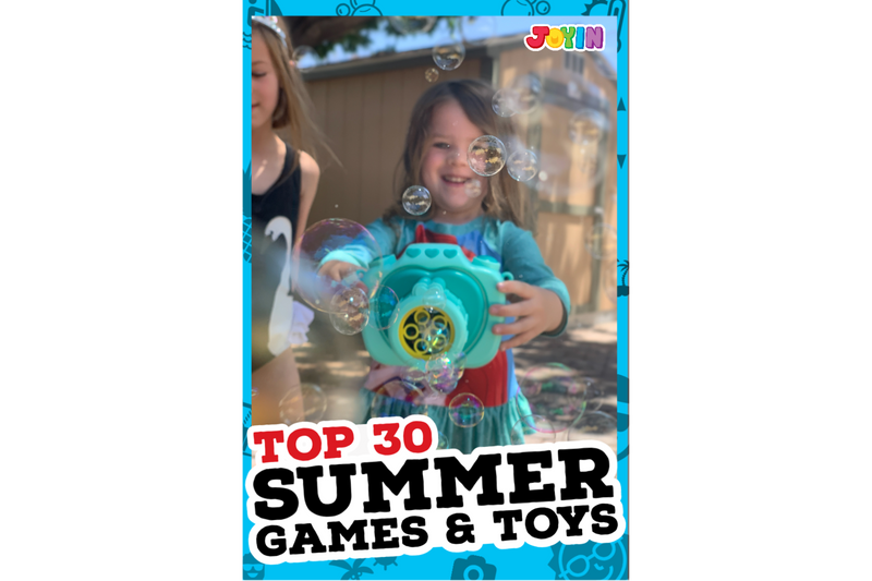 Top 30 Summer Games and Activities for Kids