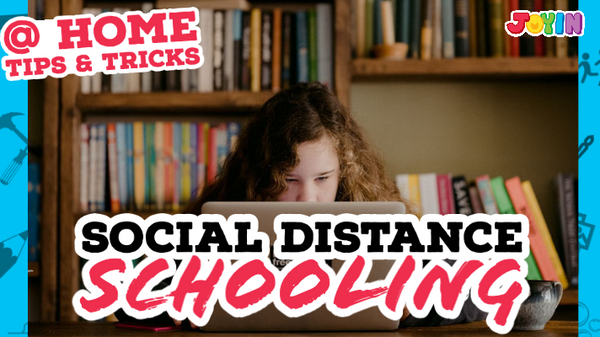 Social Distance Schooling: Tips & Tricks for the Average Mom