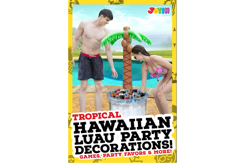 Hawaiian Themed Tropical Party Accessories |  Hawaiian Luau Decorations