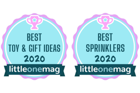 Littleonemag - Best Toy & Gift ideas Badge and Best Sprinklers