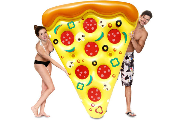 JOYIN Giant Inflatable Pizza Slice Pool Float