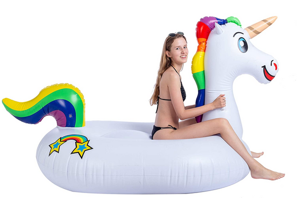 JOYIN Giant Inflatable Unicorn Pool Float