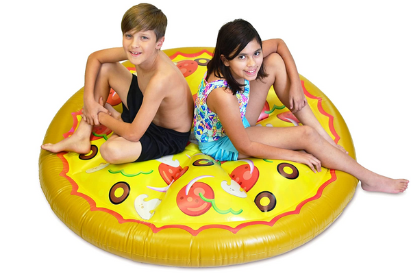 JOYIN Giant Inflatable Round Pizza Pool Float