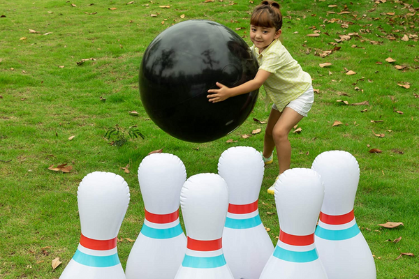 JOYIN Giant Inflatable Bowling Set for Kids and Adults Get-Together