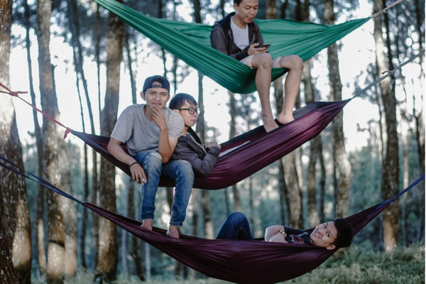 Build a hammock with dad for fathers day!