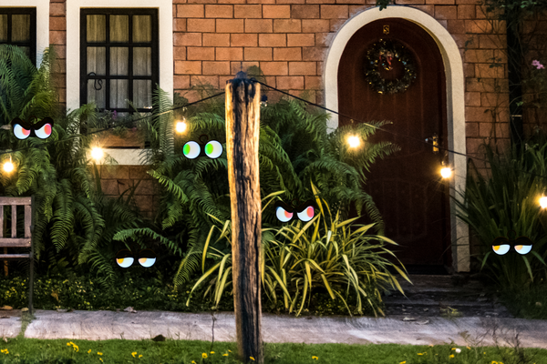 Halloween Decorations Flashing Peeping Eyes Lights