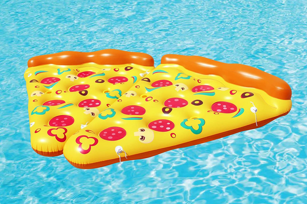 2 supreme Pizza inflatable Floats
