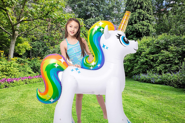 Giant Inflatable Unicorn Yard Sprinkler for Kids!