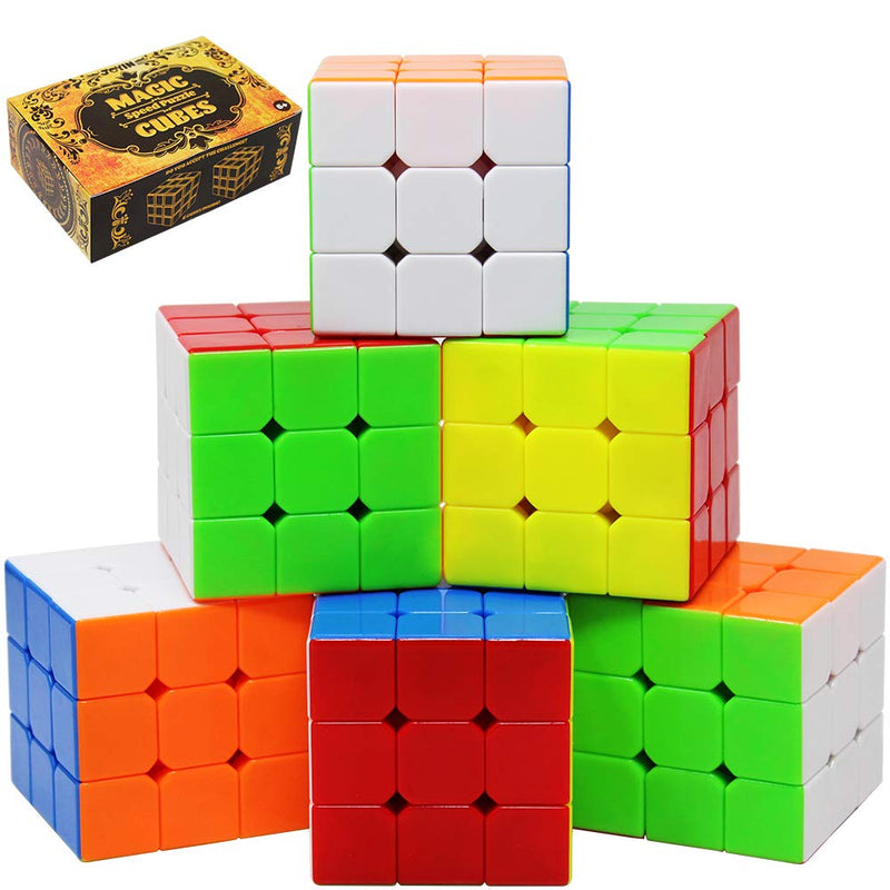 6 Pack Magic Cube