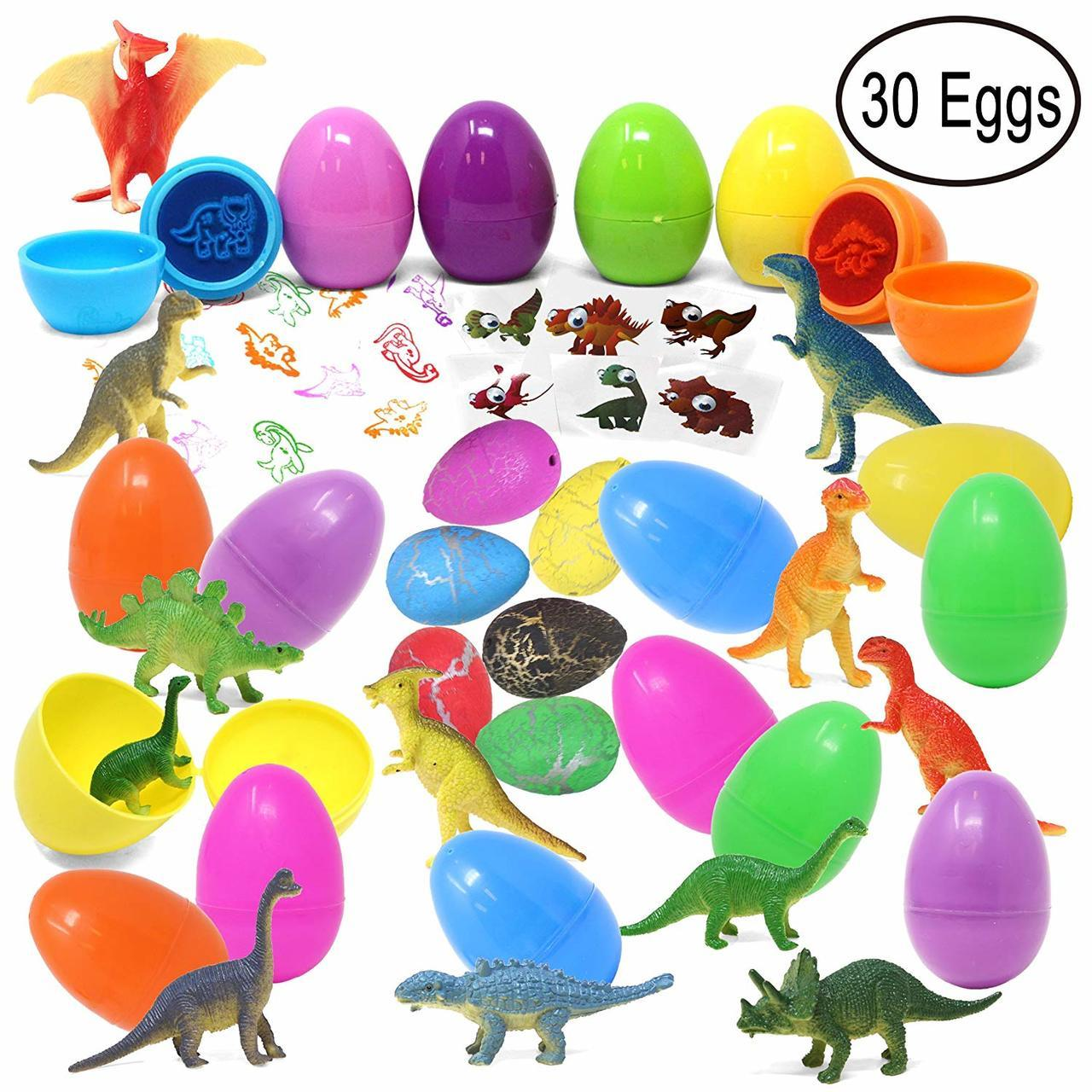 Dinosaur Easter Egg Play Set, 30 Pieces