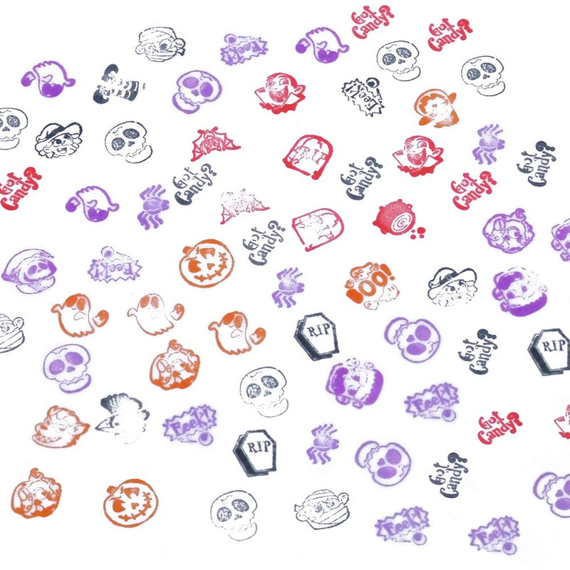 Halloween Assorted Stampers Kids Self-Ink Stamps
