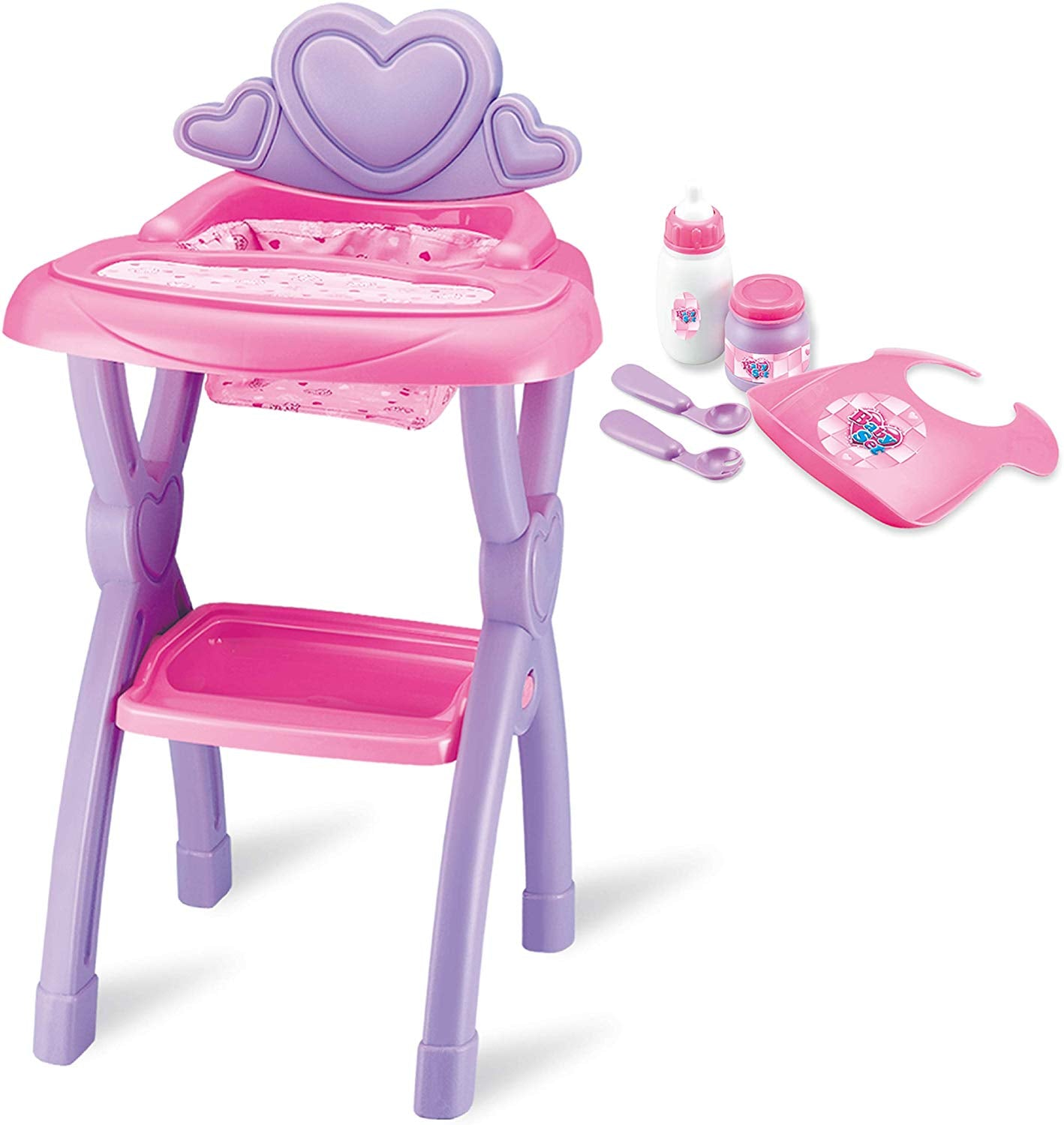 Baby Doll High Chair Set