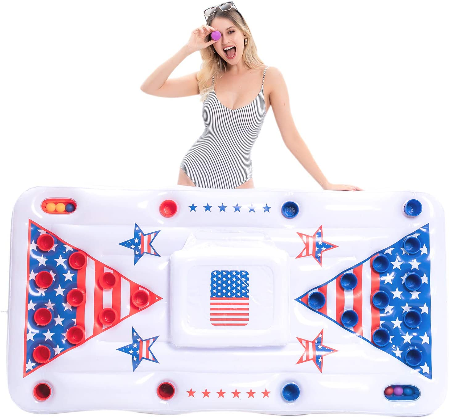 Beer Pong Inflatable Float
