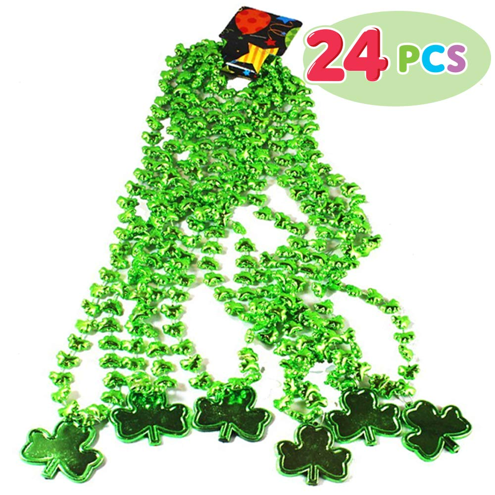 St. Patrick Party Costume Necklace