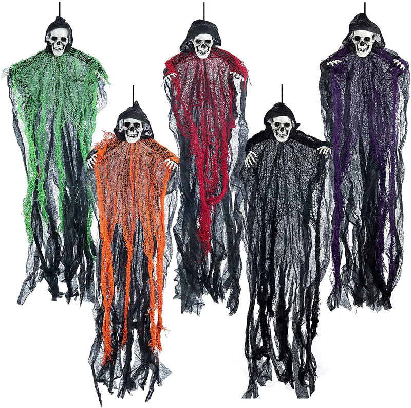 Hanging Grim Reapers, 5 Pack