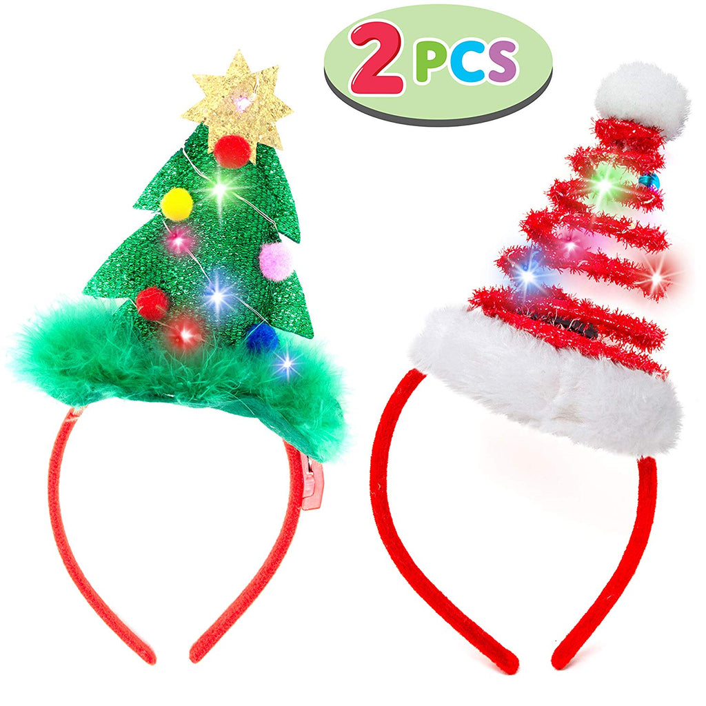 Lighted Christmas Headbands