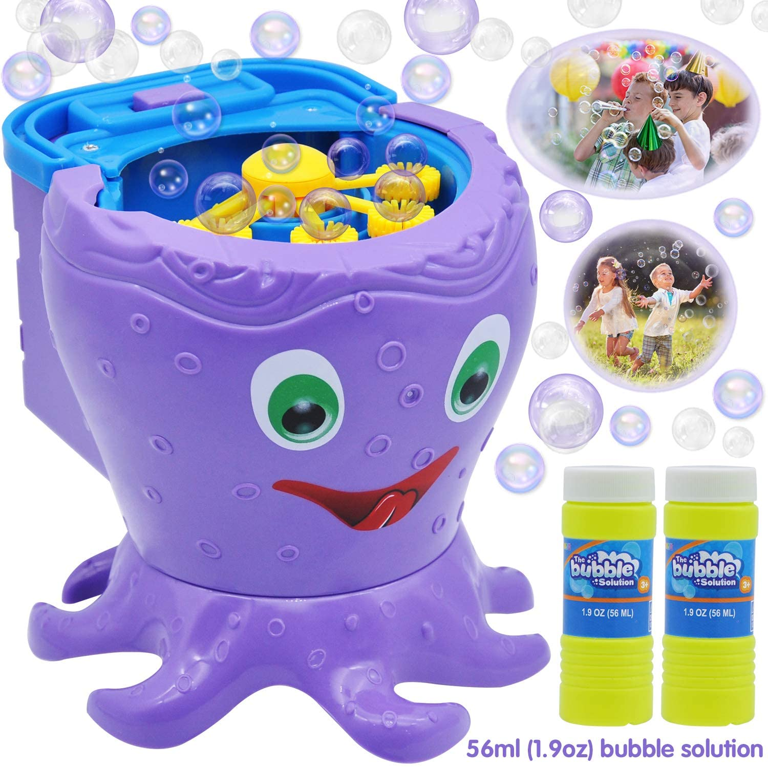 Octopus Bubble Maker