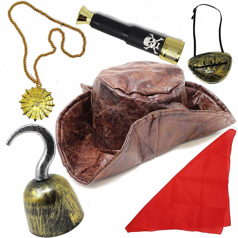 6-Piece Pirate Accessory Set