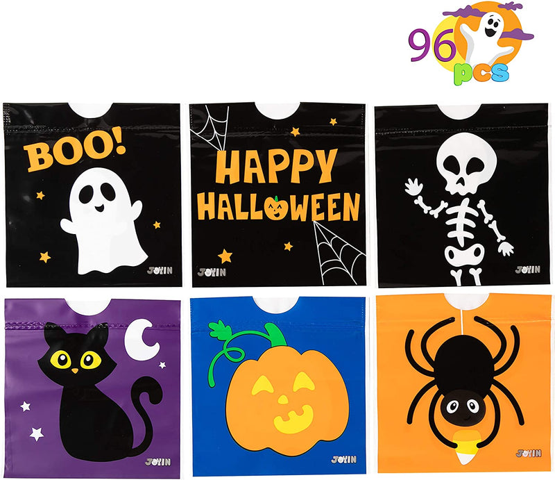 96 Piece Halloween Drawstring Candy Bag