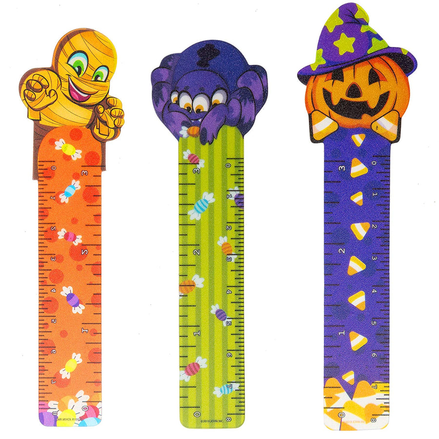 144 PCs Halloween Bookmark Rulers