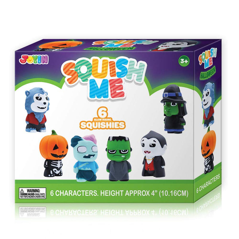 Halloween Themed Squishy Toys