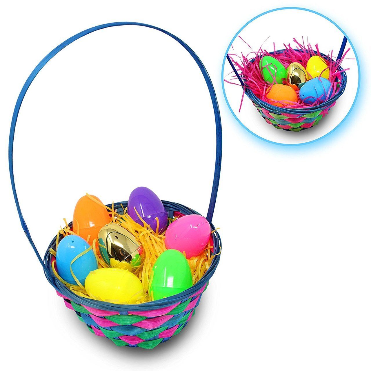 Bamboo Easter Baskets, 5-Pack