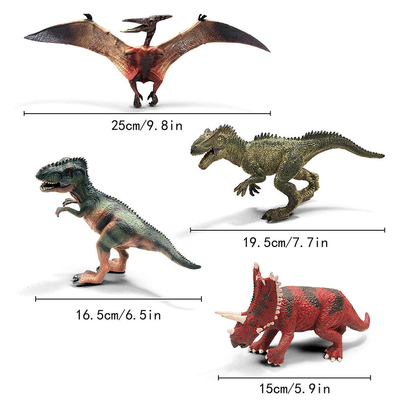 Dinosaur Playset with Educational Booklet