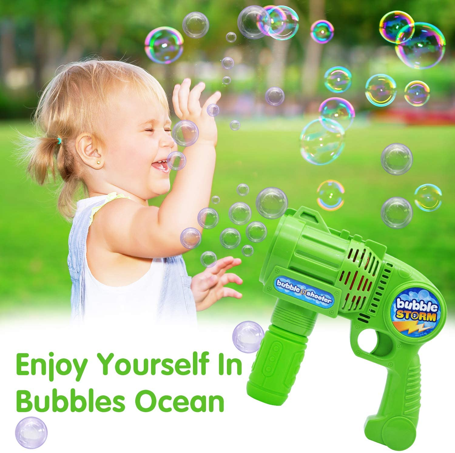 Bubble Gun Bubble Blaster