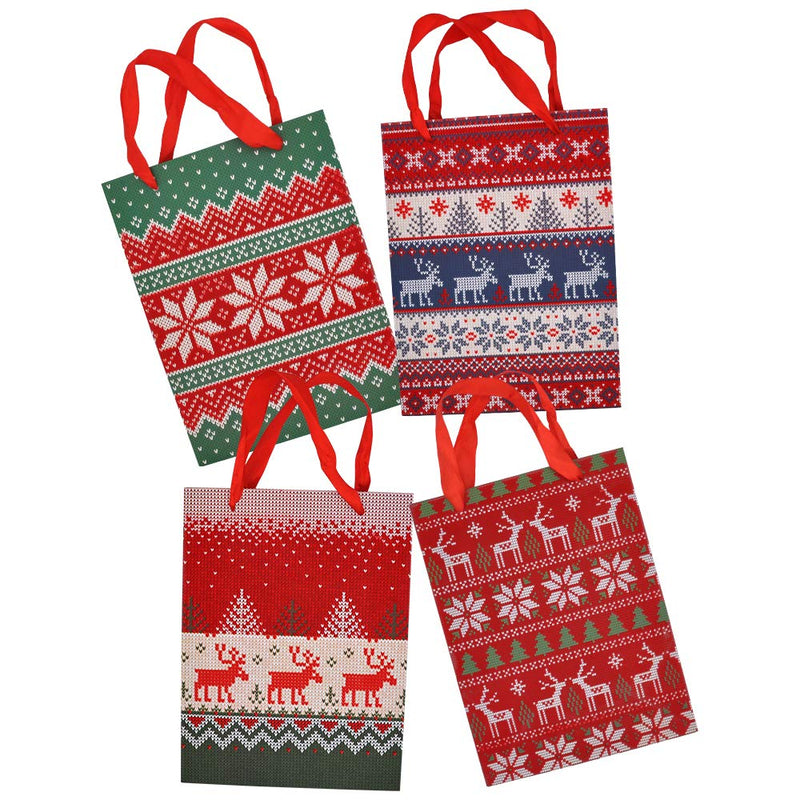 Christmas Pattern Gift Bags