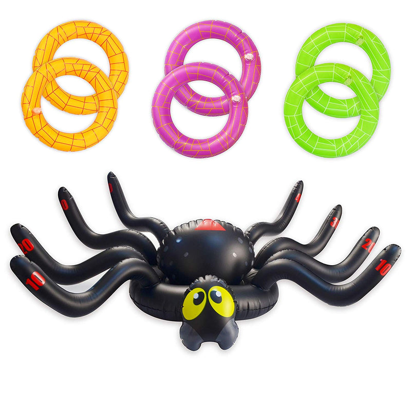 INFLATABLE SPIDER RING TOSS GAME