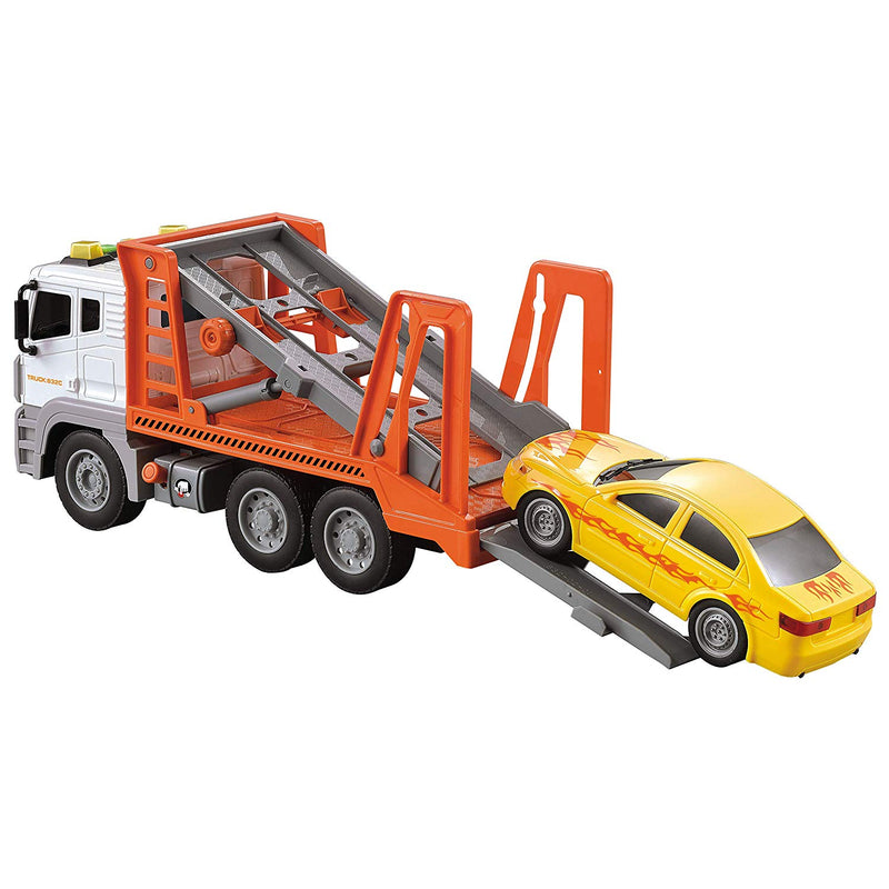 Friction Powered Jumbo Tow Truck