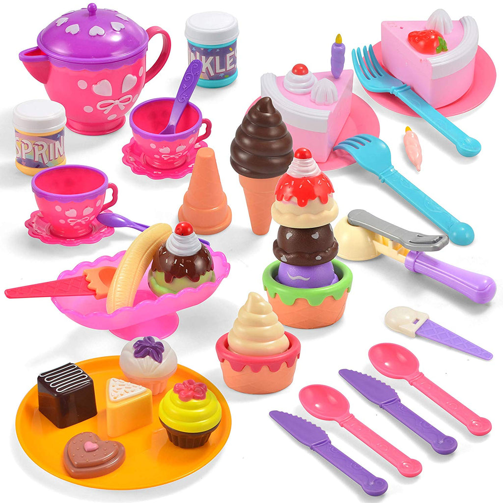 44 Piece Ice Cream Parlor Playset