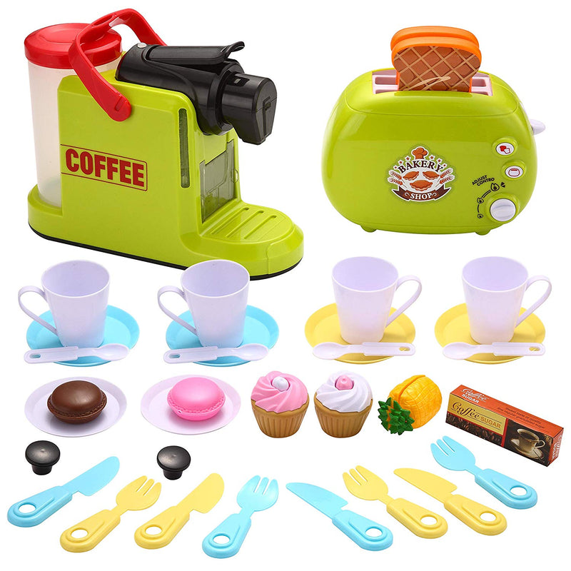 Coffee and Toaster Pretend Playset