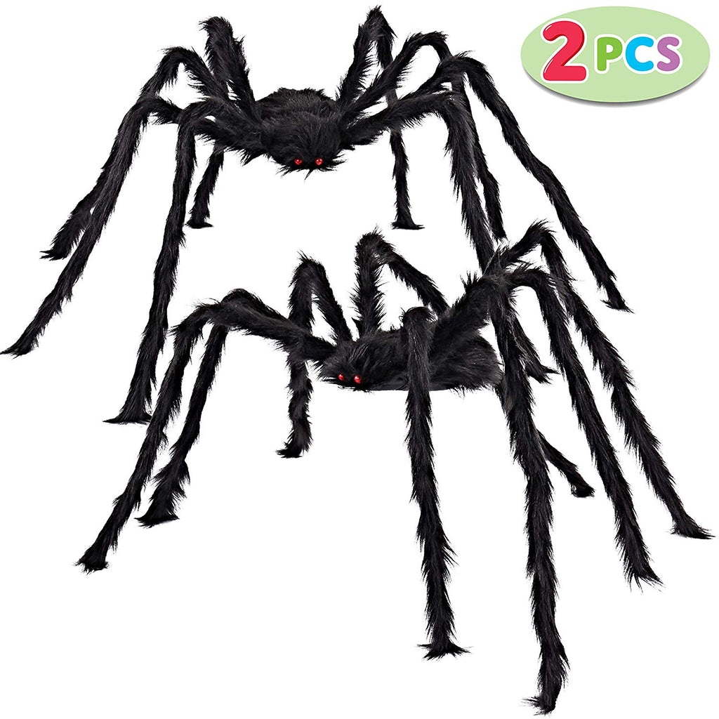 2 Pack 5 Ft. Hairy Spider