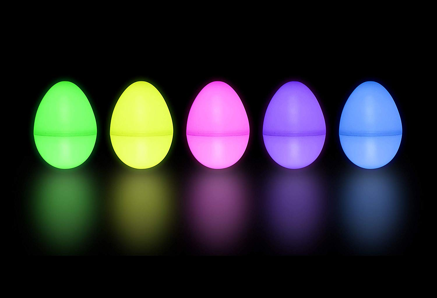 Easter Glow Eggs with mini Glow Sticks, 36 Pack