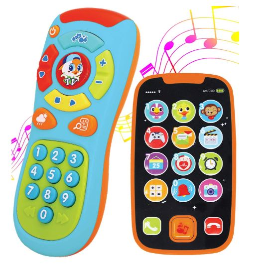 My Learning Remote and Phone Bundle with Music, Fun, Smartphone Toys