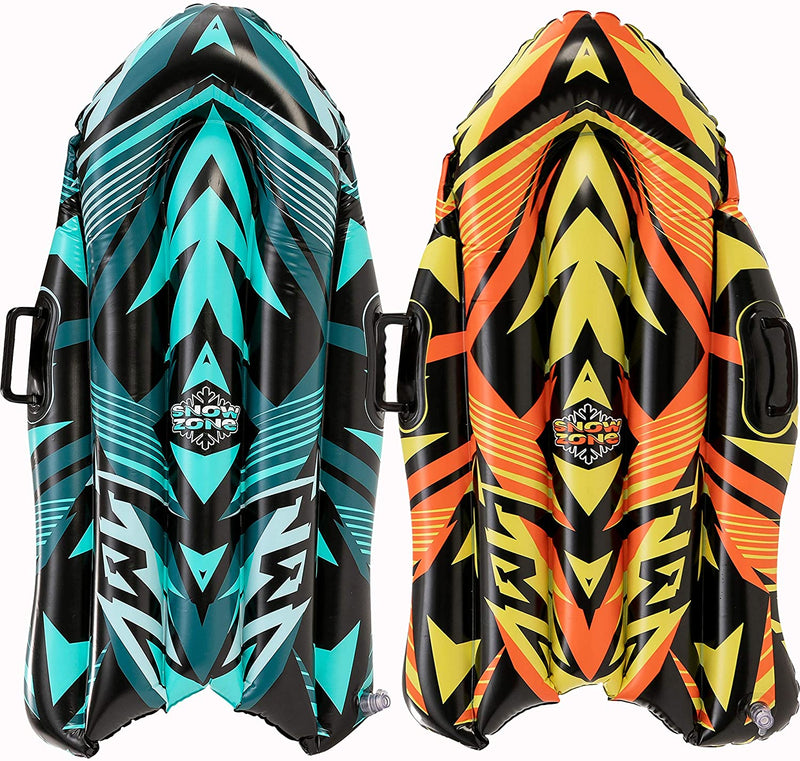 "40"" Inflatable Snow sleds, 2 Sets"