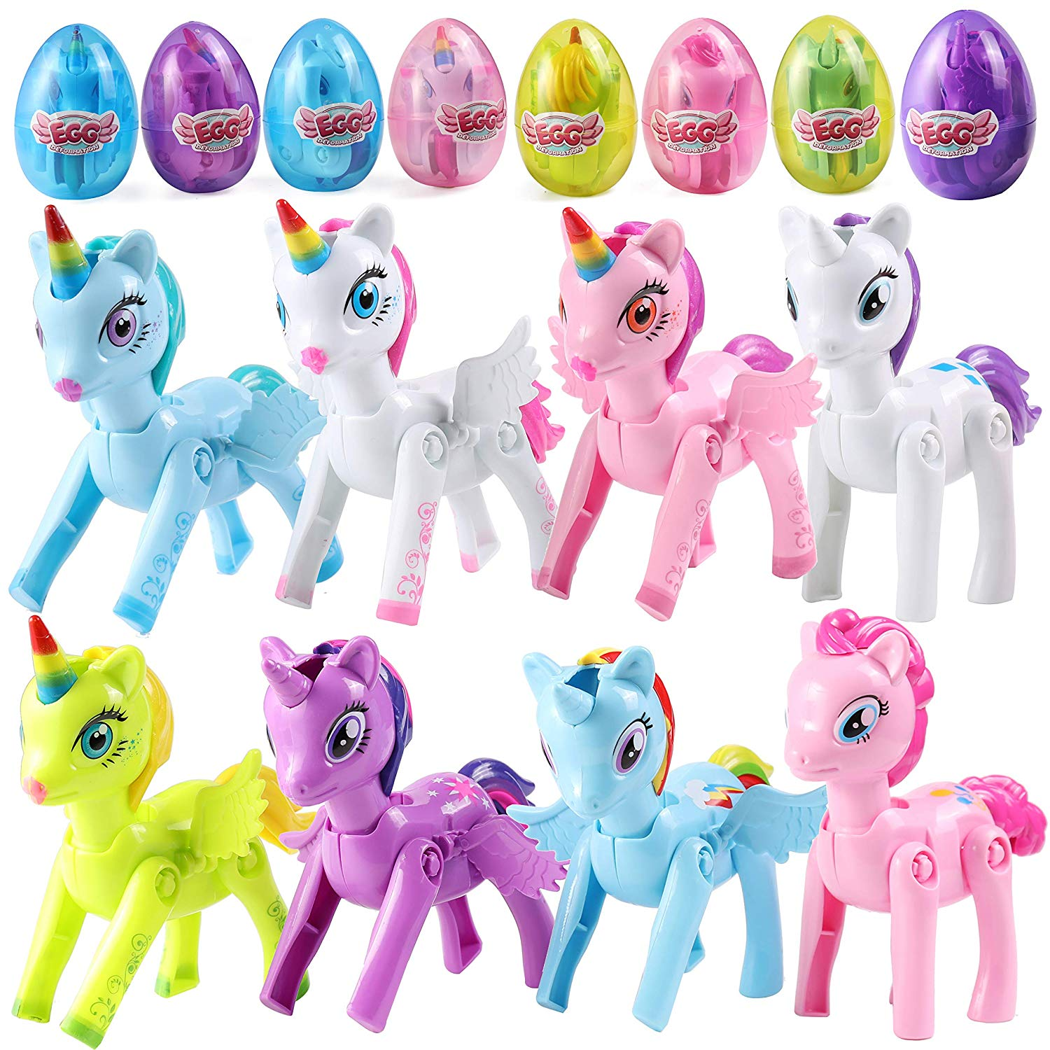 Jumbo Easter Eggs with Unicorn Pony