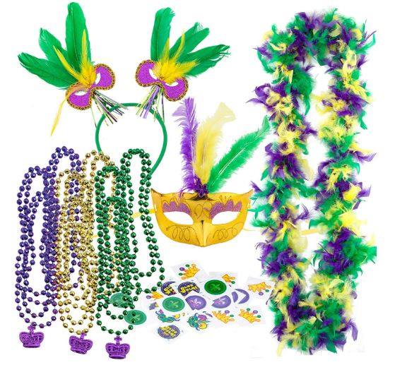 Mardi Gras Women Party Accessory