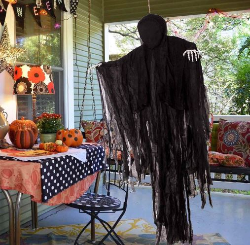 5 FT DARK HANGING GRIM REAPER