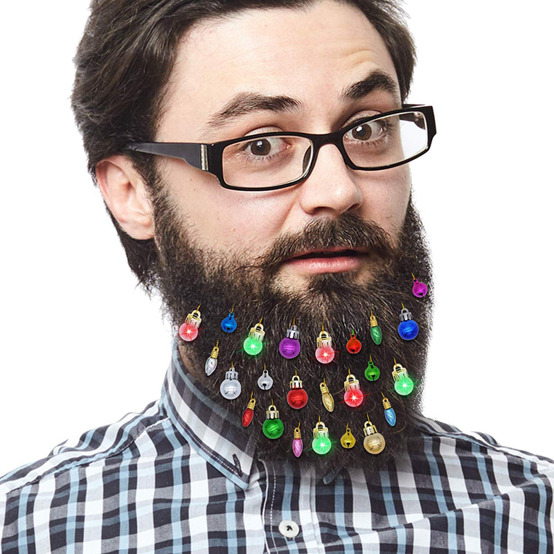 24 Piece Beard Ornaments