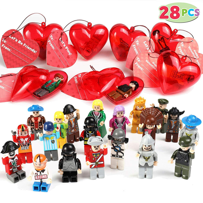 Valentine Set Mini Boys and Girls Figurine