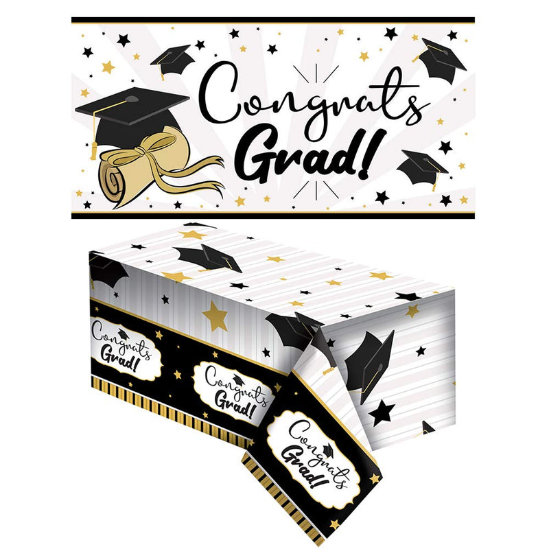 Graduation Party Banner and Tablecover