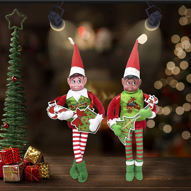 Packs Santa Couture Clothing for Elf Doll Rock N Roll Set