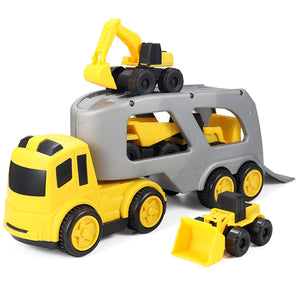 5 Piece Construction Transport Car Toy