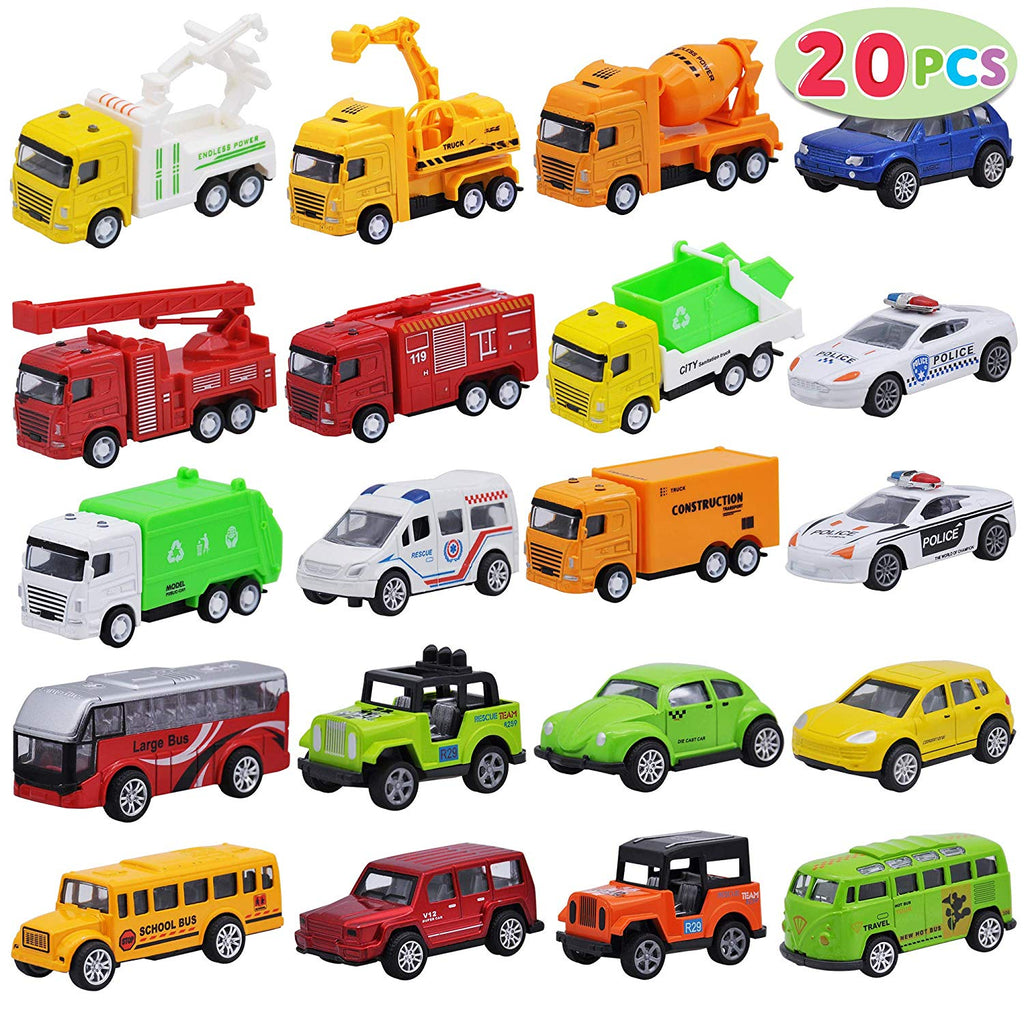 Die Cast Metal Toy Car Model Vehicle Set
