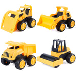 4 Piece Construction Car Toys